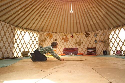 1st_yurt_inside